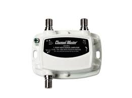 Channel Master 3410 CM3410 Distribution Amplifer drop Amp to boast amplify your Antennas Direct Clearstream 1 (C1) convertible